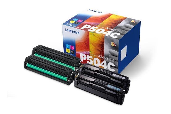 TONER HP SAMSUNG CLT P504C PACK 4 4300 PAGINAS CLP415 CLX4195 C1810 C1860
