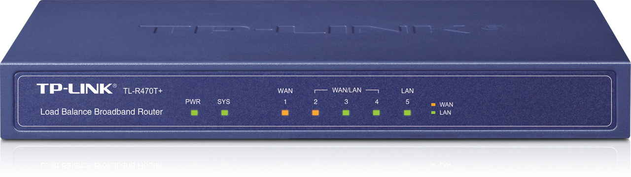 Ver TP-LINK 5P LOAD BALANCE ROUTERR FW