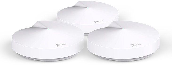 TP LINK Deco M5 3 Pack 1300Mbits Color blanco punto de acceso WLAN