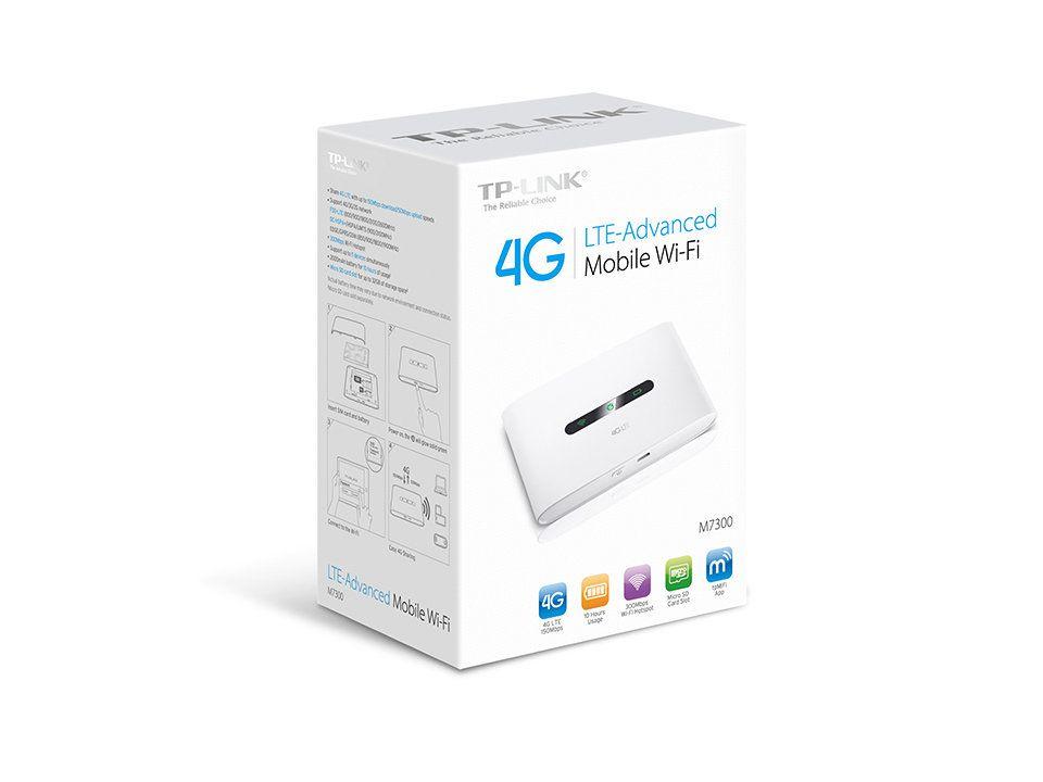 Ver TP LINK M7300 V3 Banda unica 2 4 GHz 3G 4G