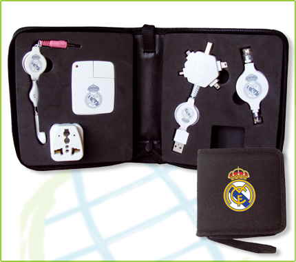 Travel Kit Usb Realmadrid