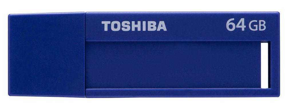 Ver Toshiba TransMemory U302 64GB USB 3 0 Azul