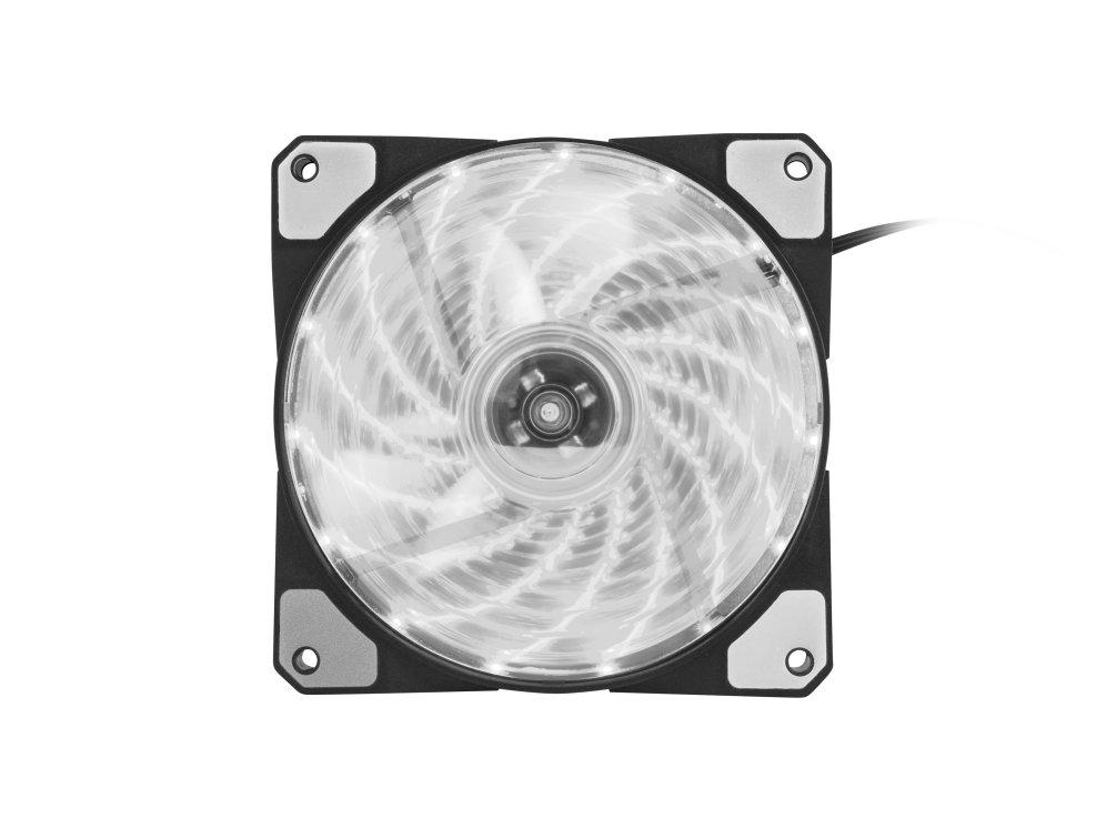 Ventilador Caja Genesis Hydrion 120 120mm Blanco