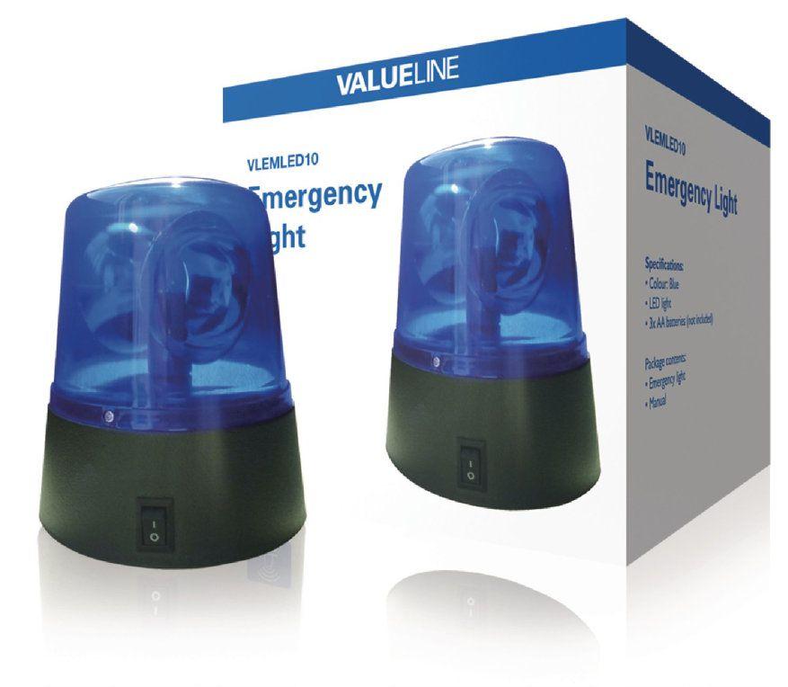 Valueline VLEMLED10 lampara de emergencia