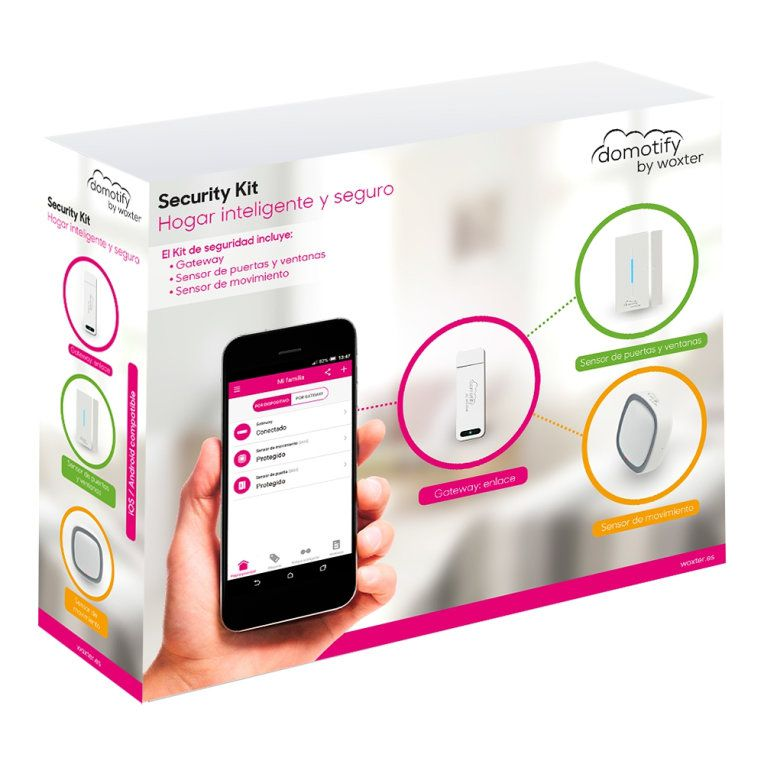 Woxter DO26 012 Wi Fi sistema de seguridad inteligente para el hogar