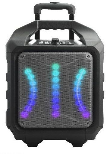 Ver Woxter Rock n Roller RX Stereo portable speaker 80W Cubo Negro