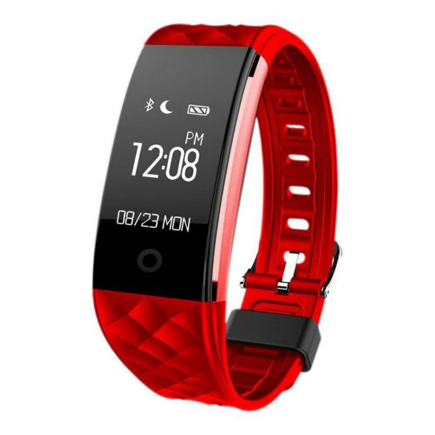Ver Woxter SmartFit 15 Wristband activity tracker 096 OLED Negro Rojo