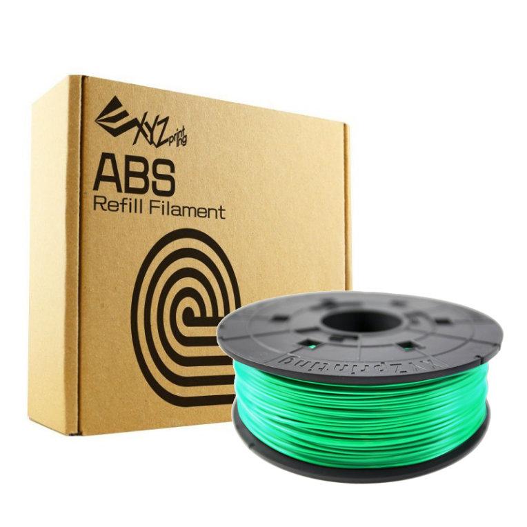 XYZprinting RF10XXEUZWK ABS Verde luminoso 600g material de impresion 3d