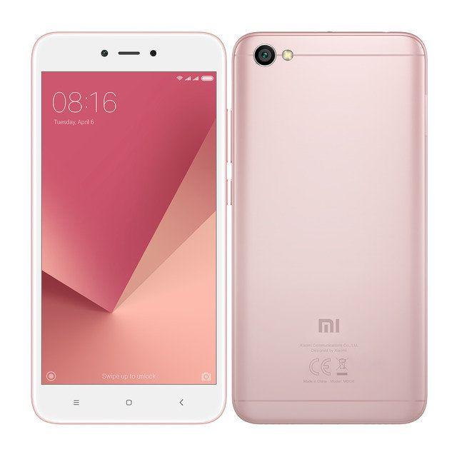 Xiaomi Redmi Note 5A Ranura hibrida Dual SIM 4G 16GB Rose Gold