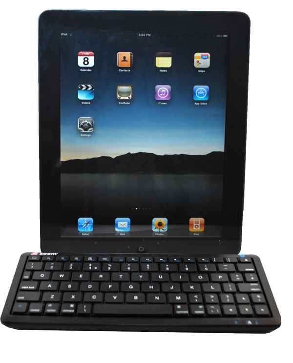 Zoom Bluetooth Keyboard Para Apple Ipad Iphone Ito