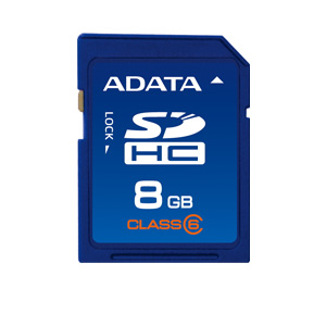 A-data 8gb High Capacity  Clase 6