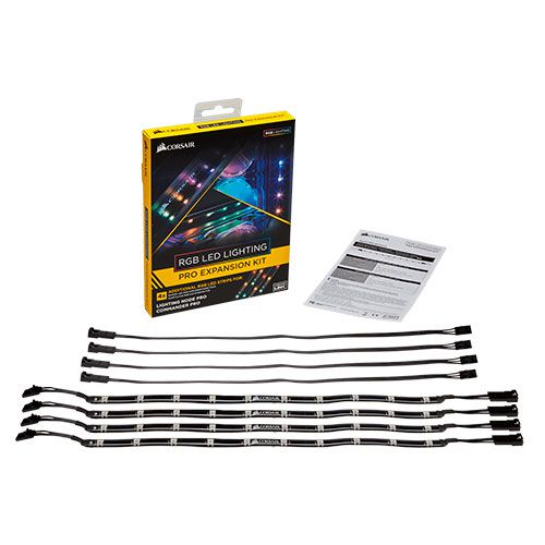 Ver ACCESORIO CORSAIR RGB LED LIGHTING PRO EXPANSION KIT