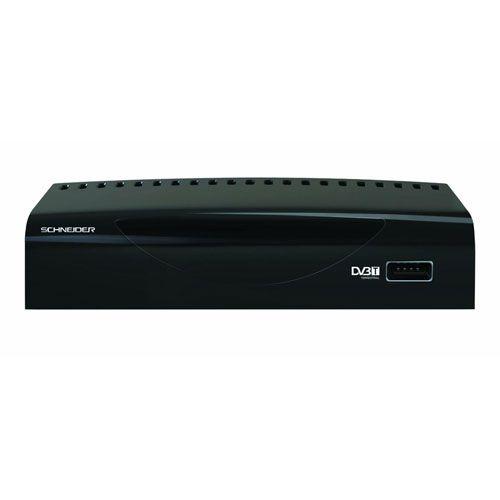 ADAPTADOR TDT SCHNEIDER HD USB Y FUNCION GRABACION NEGRO