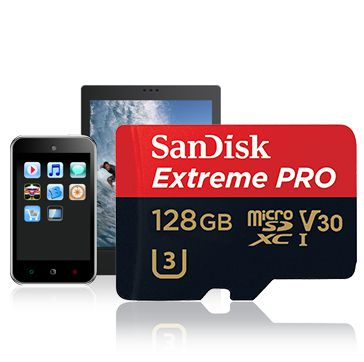 Ver ANDISK Extreme Pro microSDXC 128GB SD Adapter Rescue Pro Deluxe