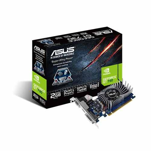 ASUS GT730 2GD5 BRK NVIDIA GeForce GT 730 con bracket low profile