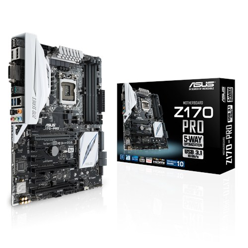 Ver ASUS Z170 PRO