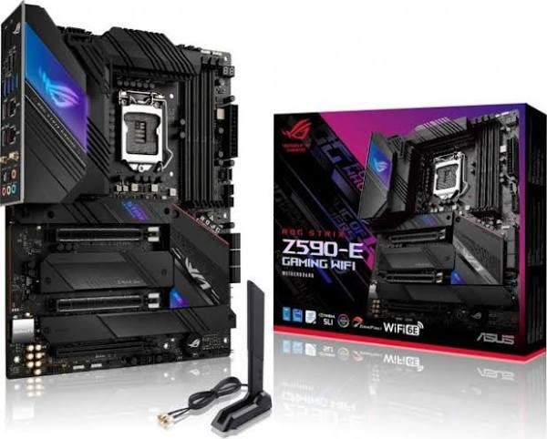 Asus Rog Strix Z590 E Gaming Wifi Intel
