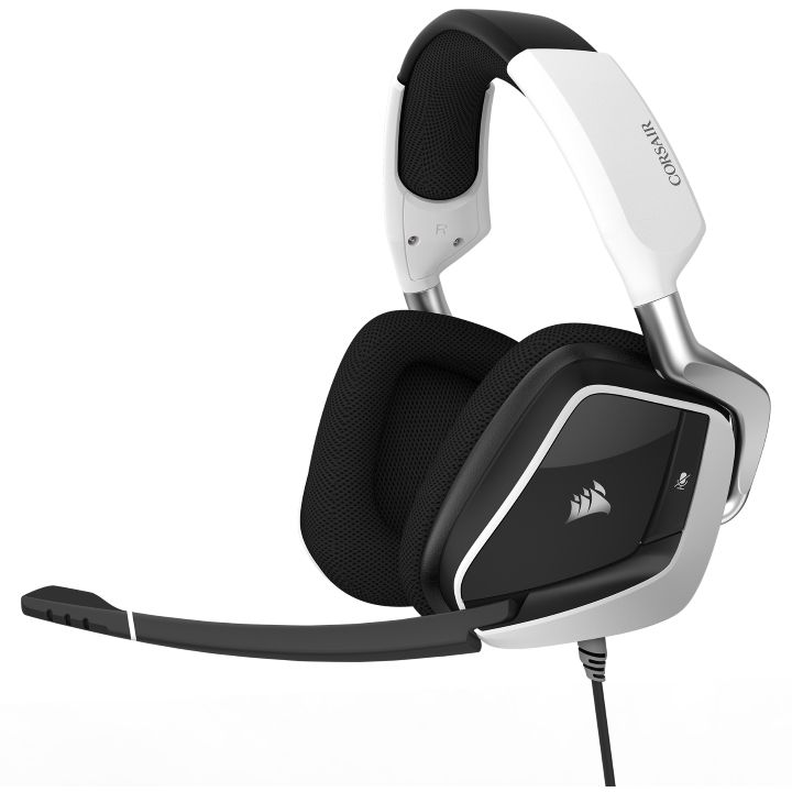 Ver CORSAIR VOID PRO RGB USB PREMIUM GAMING DOLBY 7 1 BLANCO