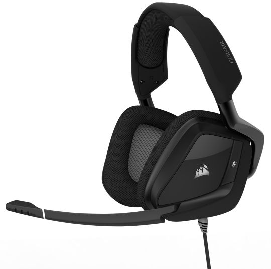 Ver CORSAIR VOID PRO RGB WIRELESS SPECIAL EDITION PREMIUM GAMING DOLBY 7 1 NEGRO CARBON