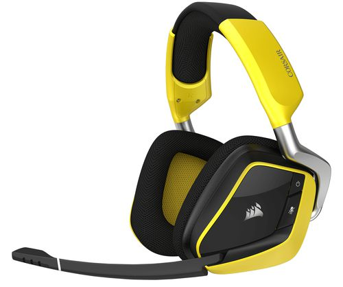 Ver CORSAIR VOID PRO RGB WIRELESS SPECIAL EDITION PREMIUM GAMING DOLBY 7 1