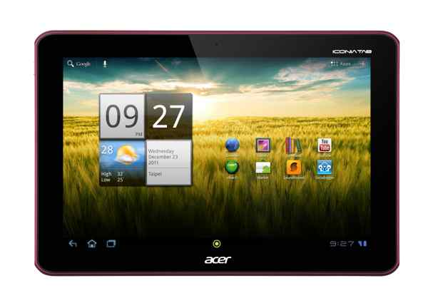 Acer Iconia Tab A200 32gb Wifi Rojo Nvidia Tegra 2 Dc 1ghz  Android 40