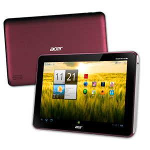 Acer Iconia Tab A200 Picasso E 8gb Rojo Xeh8wen005