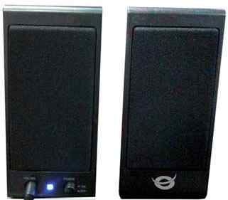 Altavoces Conceptronic 20 5w Usb Compatible Con Pc  Cd  Mp3  Cllspk20b