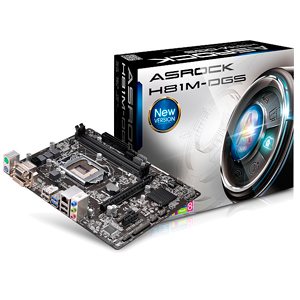 Placa Base Asrock Placa Base H81m-dgs