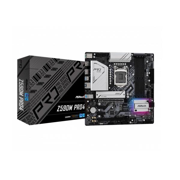 Asrock Z590m Pro4 Intel Z590