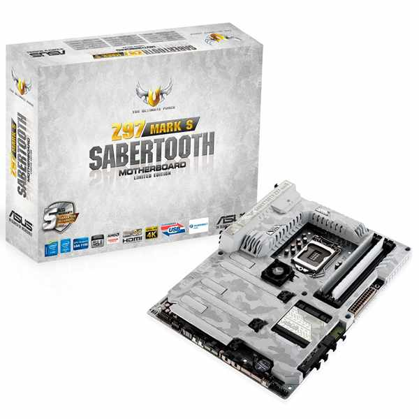 Ver Asus Placa Sabertooth Z97 MARK S