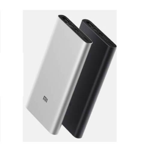 Bateria Externa Mi Power Bank 3 10000mah Plata Xiaomi