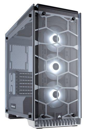CORSAIR CRYSTAL 570X RGB ATX MID TOWER BLANCA