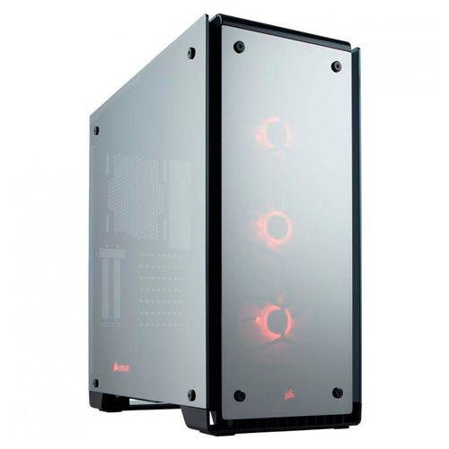 Ver CORSAIR CRYSTAL 570X RGB MIRROR BLACK CC 9011126 WW