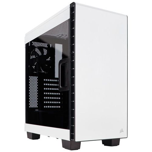 Ver CORSAIR Carbide Clear 400C Compact Mid Tower BLANCA