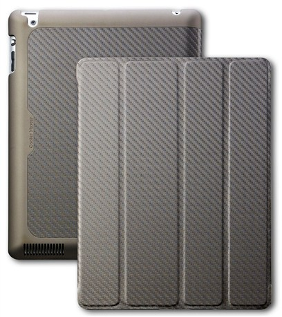 Cooler Master Funda Ipad Wake Up Bronce Fibra Carbono  C-ip3f-ctwu-zz