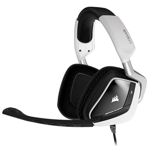 Ver CORSAIR Gaming VOID USB Dolby 7 1 RGB BLANCO