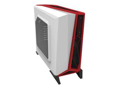 Ver CORSAIR Carbide Series SPEC ALPHA BLANCA ROJA