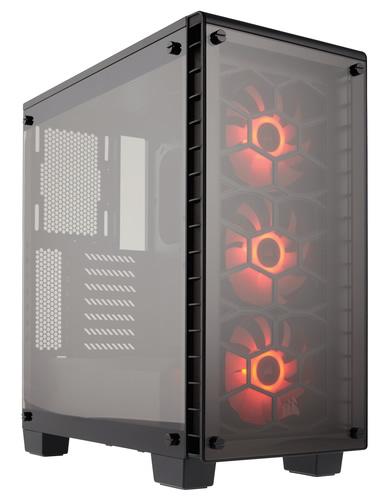 Ver CORSAIR CRYSTAL 460X RGB MID TOWER