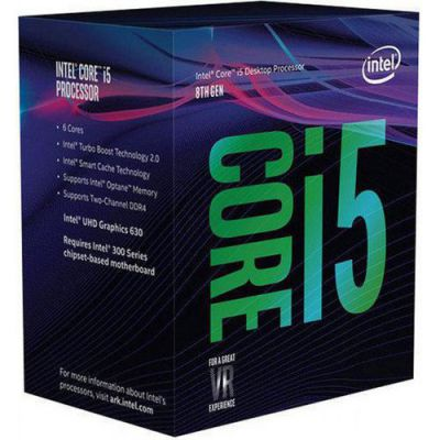 Ver CPU INTEL CORE I5 8600K