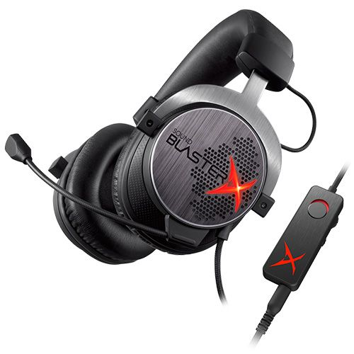 Ver CREATIVE AURICULARES  MIC GAMING SOUND BLASTER X H7