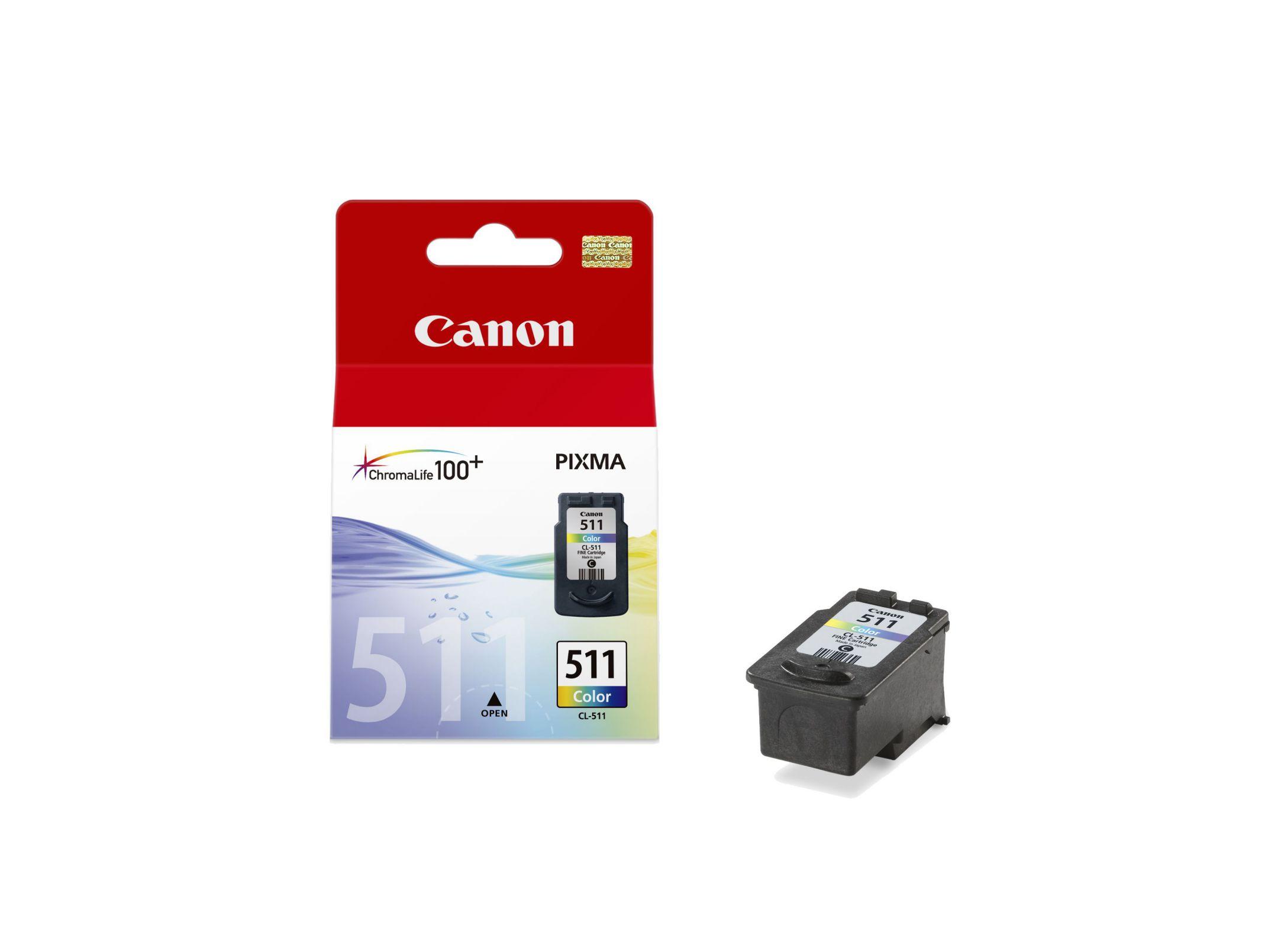 Canon Cl 511 Original Cian Magenta Amarillo