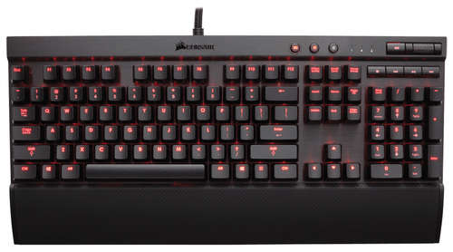 Ver Corasir K70 Mechanical Gaming Retroiluminado LED ROJO Cherry MX Blue