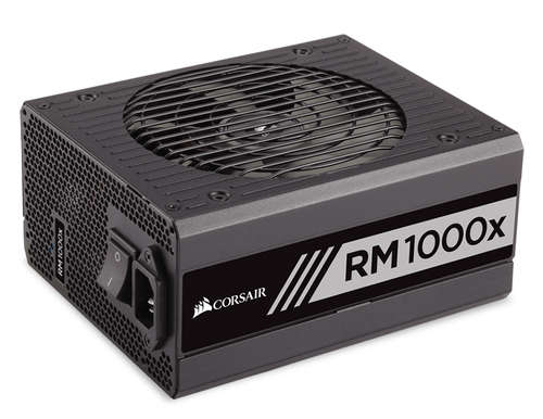 Ver Corsair Series RM1000x 80 GOLD Full Modular 1000W