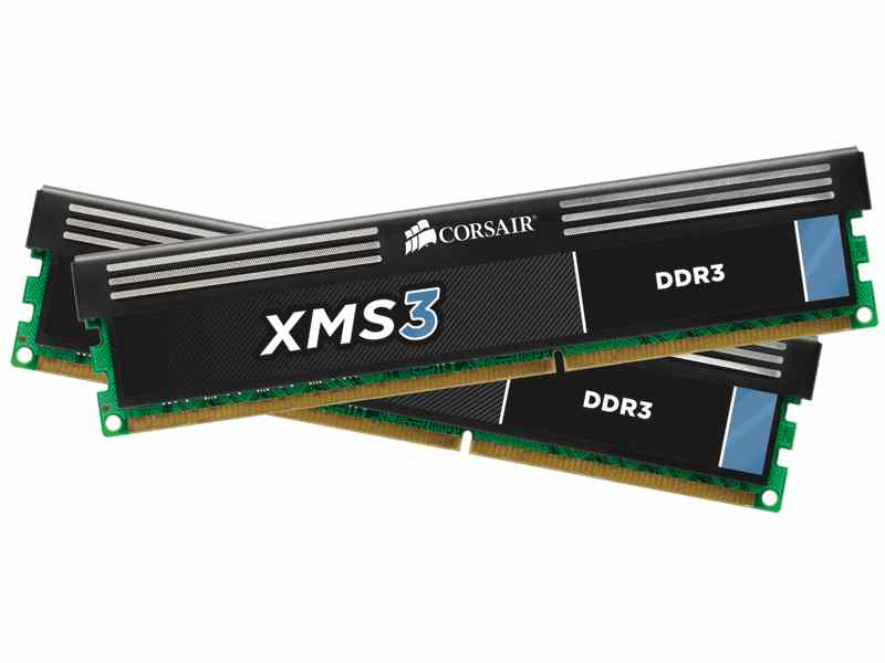 Ver Corsair Memoria DDR3 16GB PC 1600 XMS3 with Classic Heat Spreader