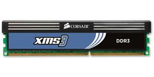 Corsair Memoria Ddr3 4gb Pc 1333 Xms3 With Classic Heat Spreader