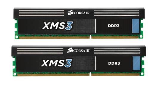 Corsair Memoria Ddr3 8gb Pc 1600 Xms3 With Classic Heat Spreader Cmx8gx3m2a1600c9