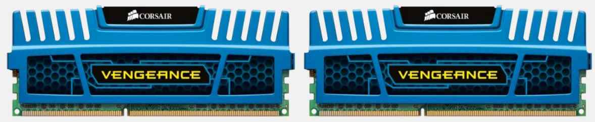Corsair Memoria Ddr3 8gb Pc 2133 Vengeance Blue Heatspreader Blackpcb