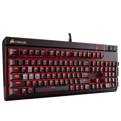 Ver Corsair STRAFE Cherry MX Red Teclado Gaming