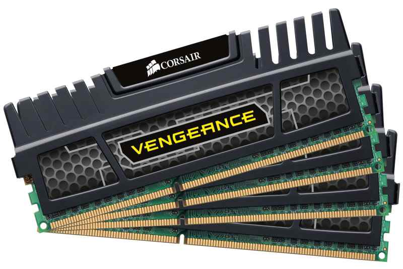 Ver Corsair Vengeance Quad Channel 32GB DDR3-1600MHz