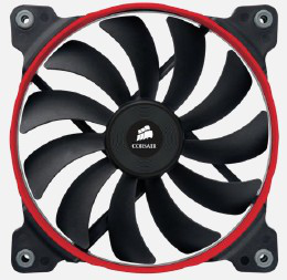 Corsair Ventilador Caja Af140 Low Noise High Airflow Fan 140mmx25mm 3pin Single Pack